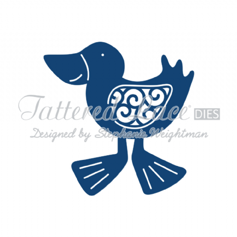 Tattered Lace Die Duck D566
